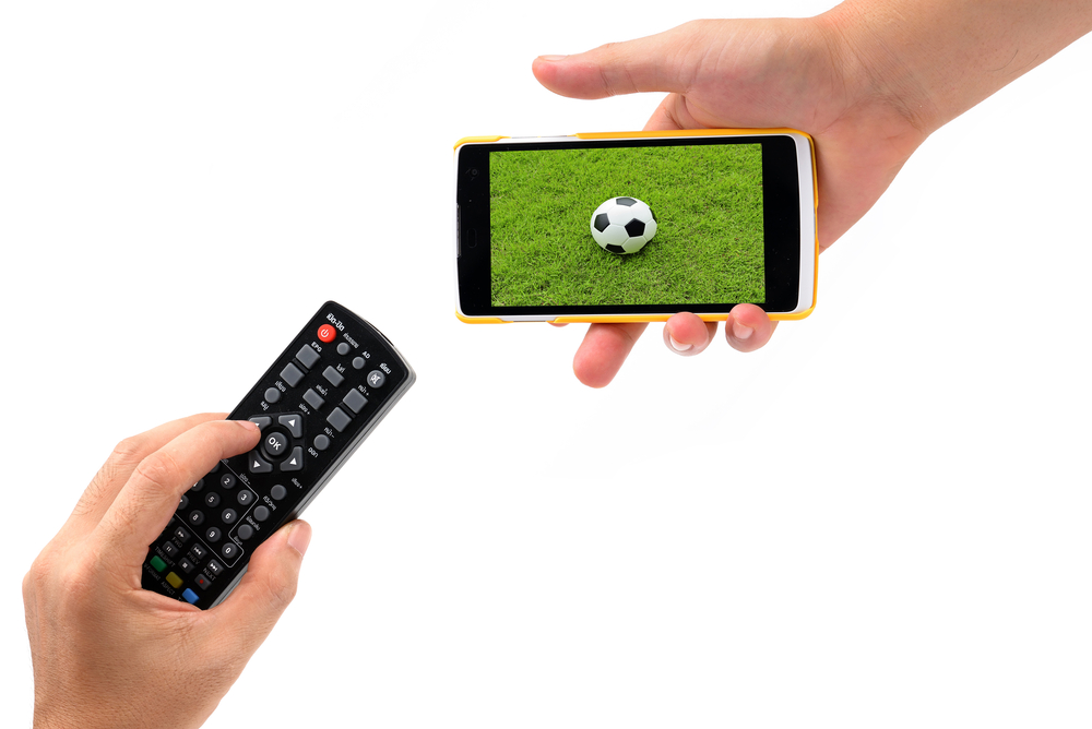 TV on Mobile phone