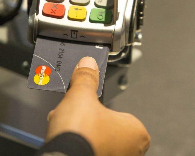 Mastercard з датчиком відбитку пальців