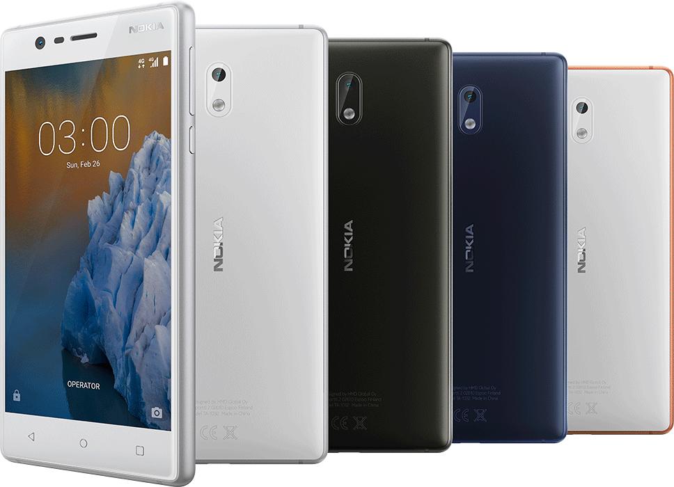 Nokia 3 має екран 5 дюймів
