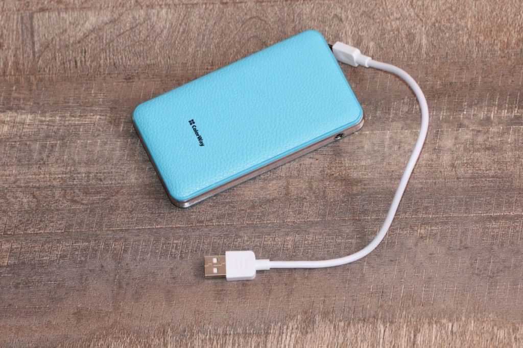 ColorWay 8000 mAh Blue (CW-PB080LPA2BL). Комплектация