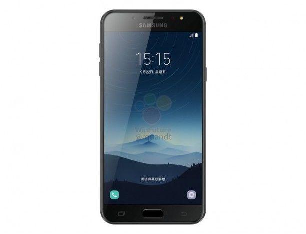 Samsung Galaxy C8. Рендерные фото