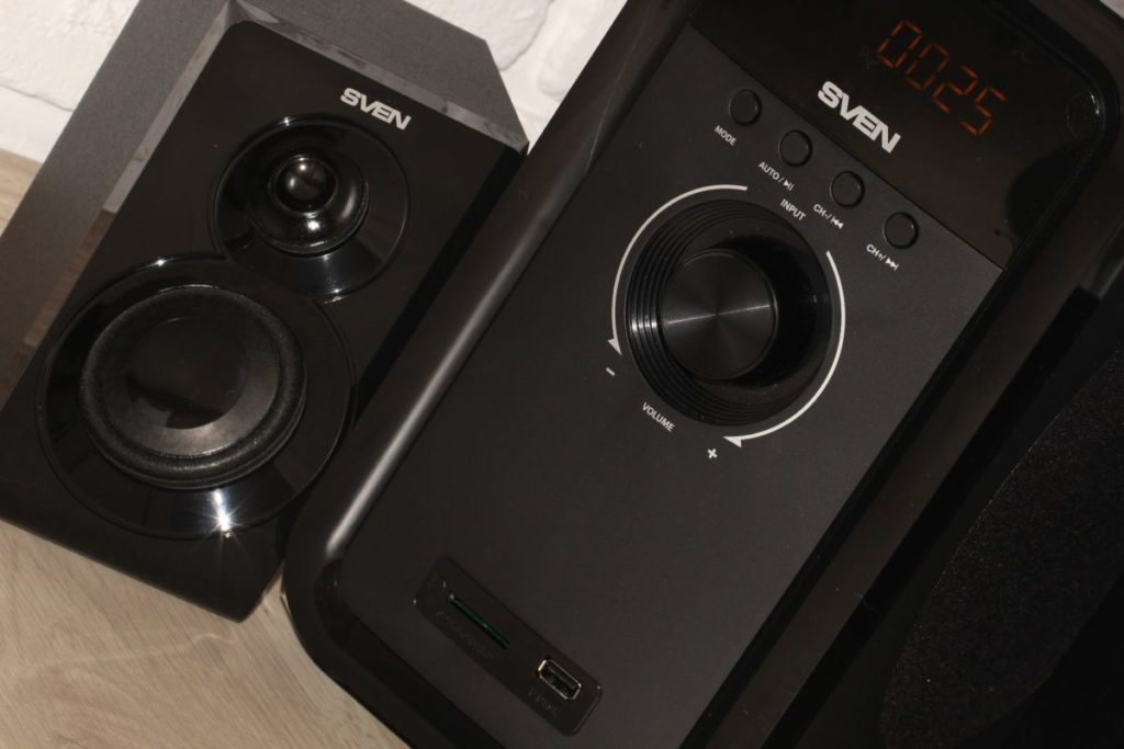 SVEN MS-2051. Звук
