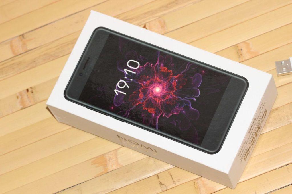Nomi EVO Z i5050. Як виглядяє коробка