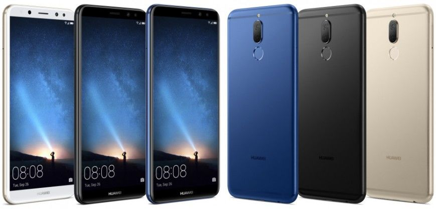 Huawei Mate 10 Lite. Дизайн
