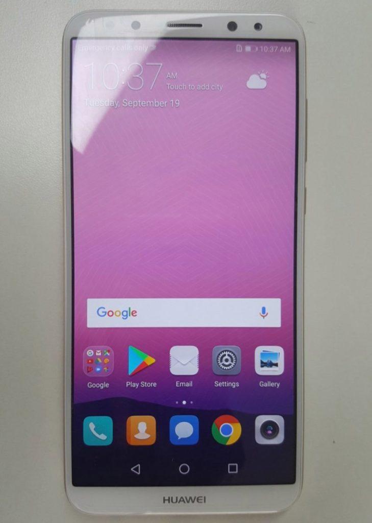 Дизайн Huawei Mate 10 Lite