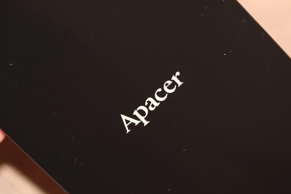 Apacer AC233. Материали