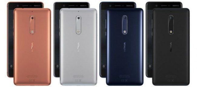 Nokia 5. Кольорні рішення
