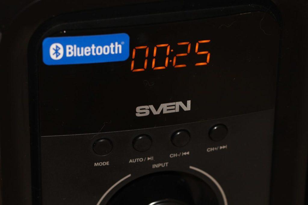 SVEN MS-2051. Дисплей