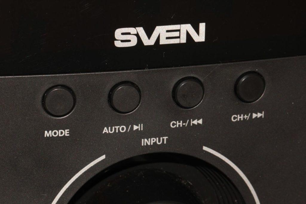 SVEN MS-2051. Кнопки управления