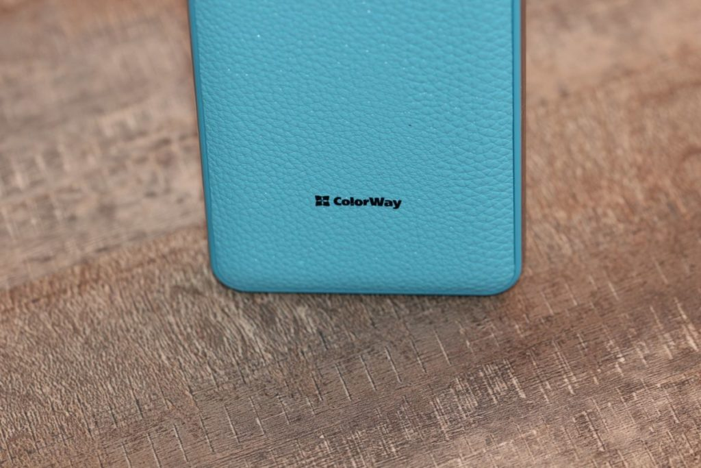 ColorWay 8000 mAh Blue (CW-PB080LPA2BL). Эргономика