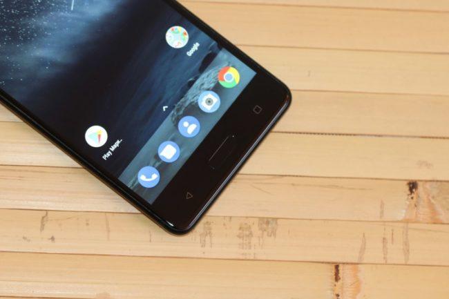 Nokia 5. Підсвітка сенсорних кнопок