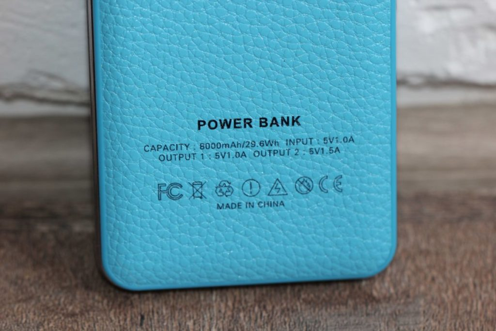 ColorWay 8000 mAh Blue (CW-PB080LPA2BL). Отдам бесплатно
