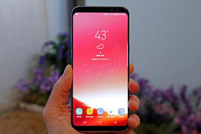 Рожевий Galaxy S8