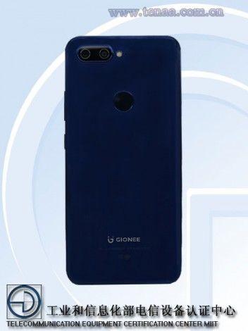 Gionee S11. Дизайн
