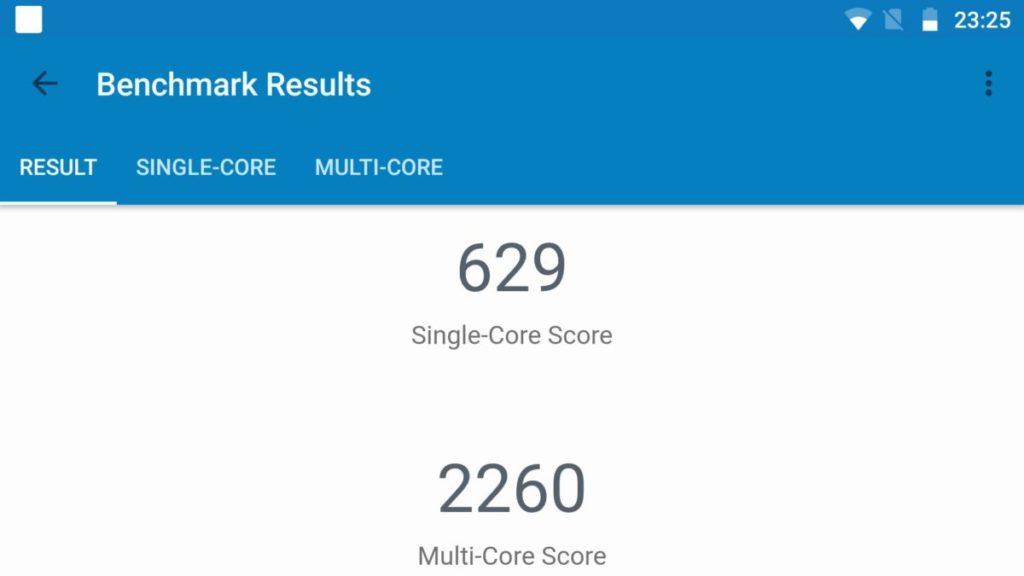 Moto G5S. Продуктивність