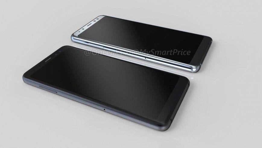 Samsung Galaxy A5 (2018) і A7 (2018). Новинка