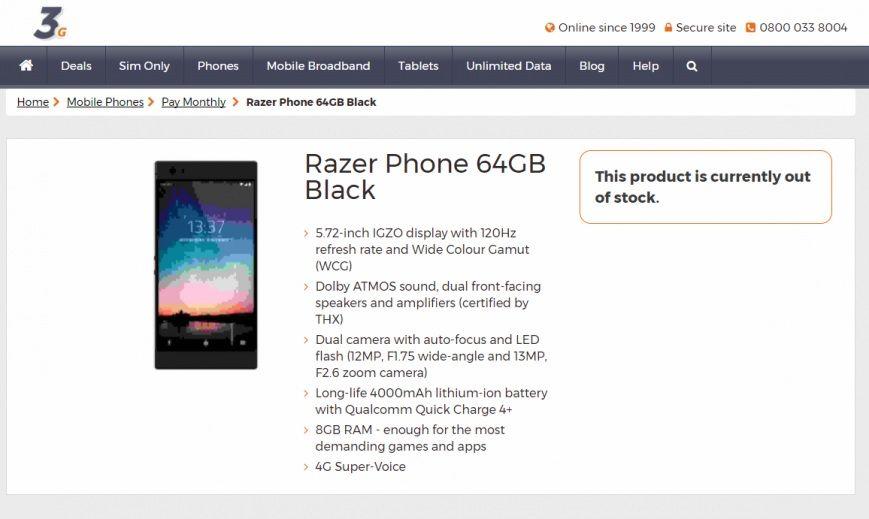 Razer. Тестування iгрового смартфону