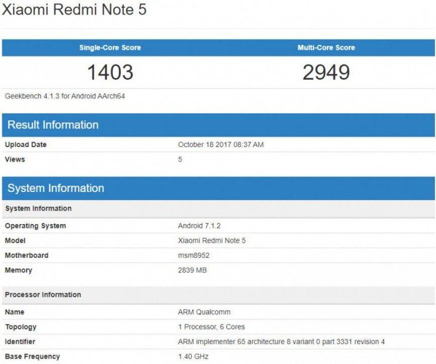 Redmi Note5. Обзор и опыт пользователя