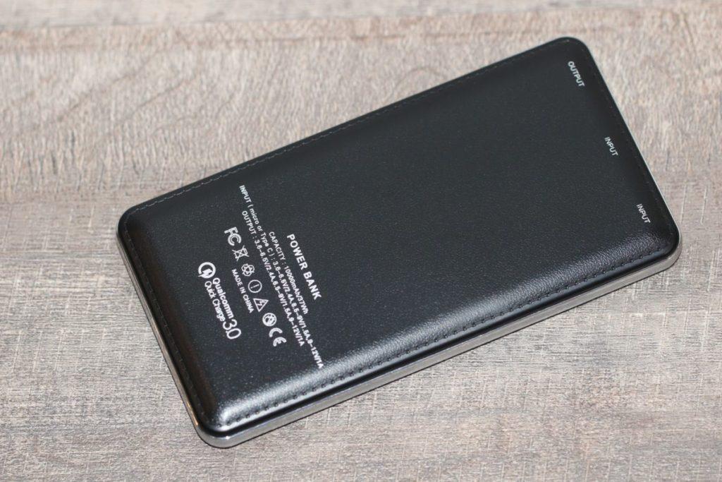 ColorWay QC 3.0 10000 мА•год Black. Ергономіка