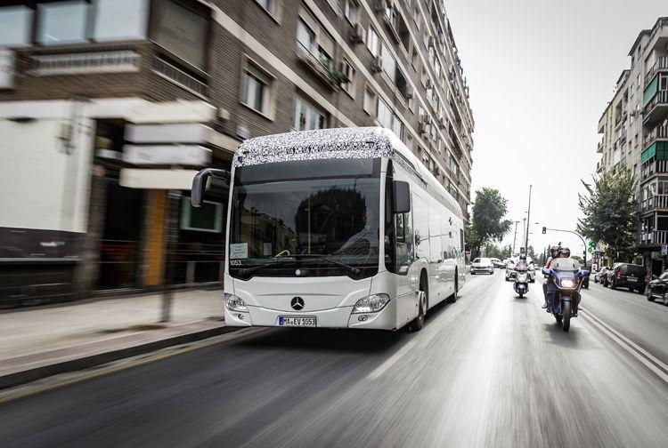 Mercedes-Benz Citaro. Электробус