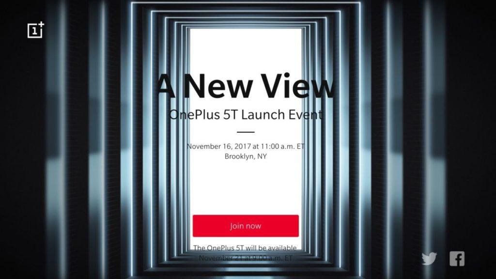 OnePlus 5T. Презентация и анонс