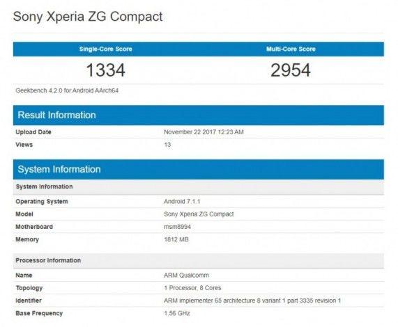 Sony Xperia ZG Compact. Опыт пользователя