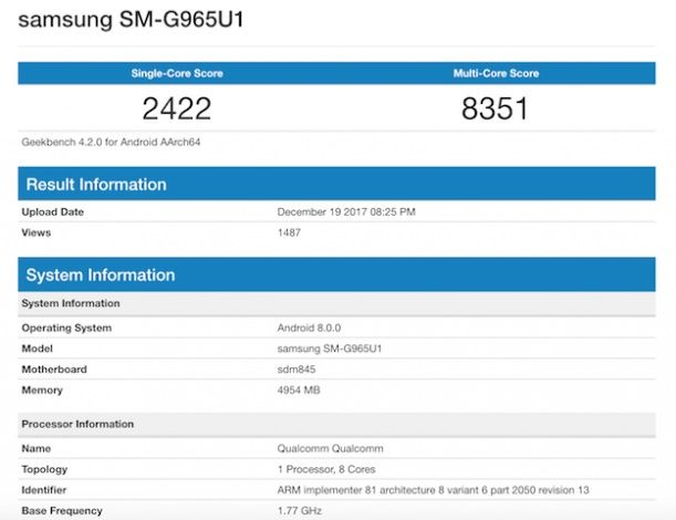 Samsung Galaxy S9+. Как работает Samsung Galaxy S9+