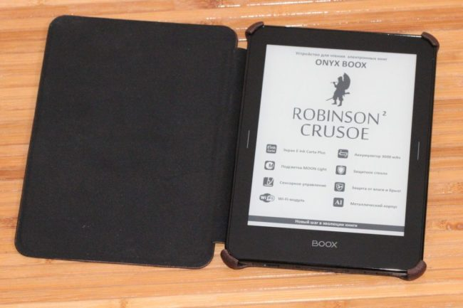 Onyx Boox Robinson Crusoe 2. Новинка