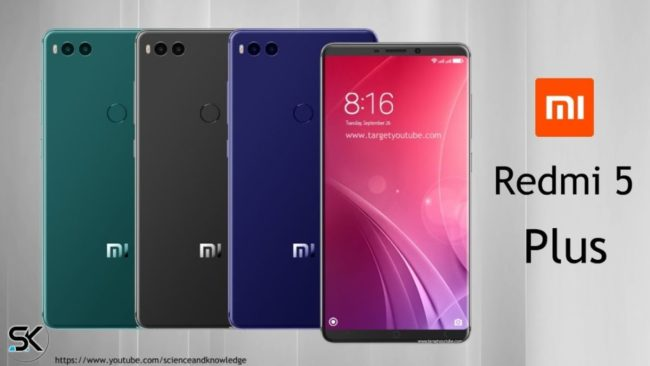 Xiaomi Redmi 5 і Redmi Plus 5. Анонс