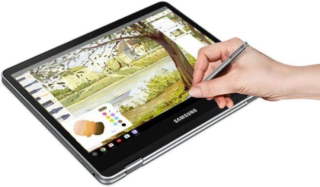 Samsung. Хромбук зi стилусом