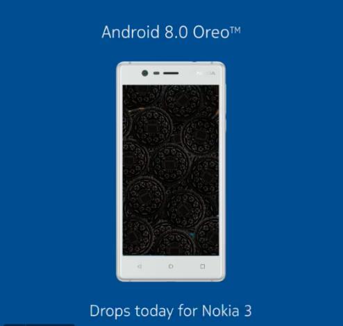 Nokia 3. Android 8.0 - оновлення