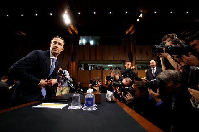 директора Facebook викликали в американський сенат, де він доповідав протягом п'яти годин