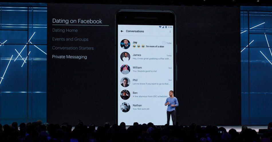 Сервіс знайомств Facebook буде підбирати пару виходячи із загальних інтересів
