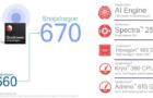 Snapdragon 670 – процесор для середньобюджетних мобільників зі штучним інтелектом
