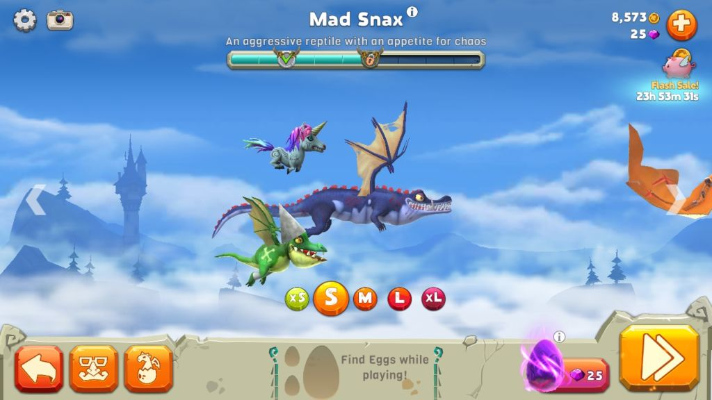 Android-игра Hungry Dragon. Жри, убивай, драконствуй